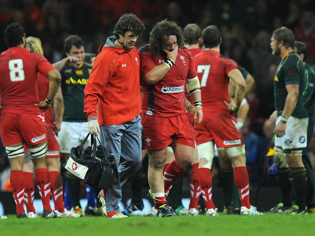 Adam Jones Axed By Wales For Boks
