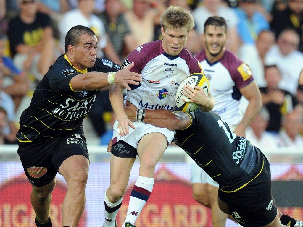 Australian back Blair Connor on the run for Bordeaux Bègles