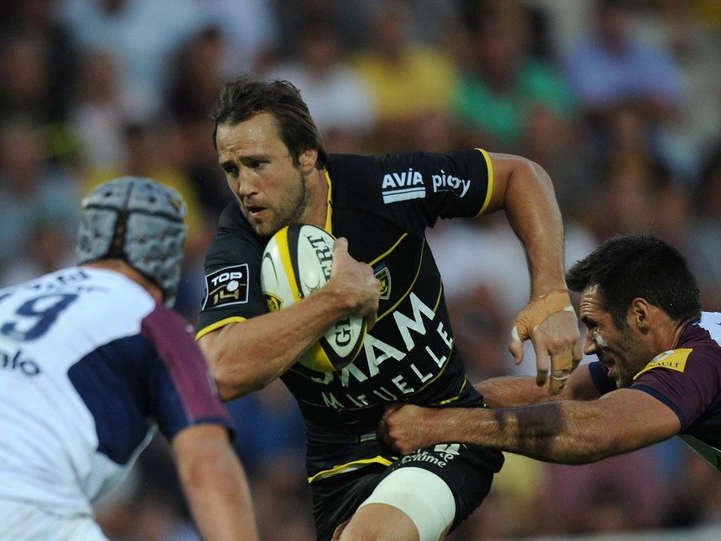 Peter Grant working hard for La Rochelle