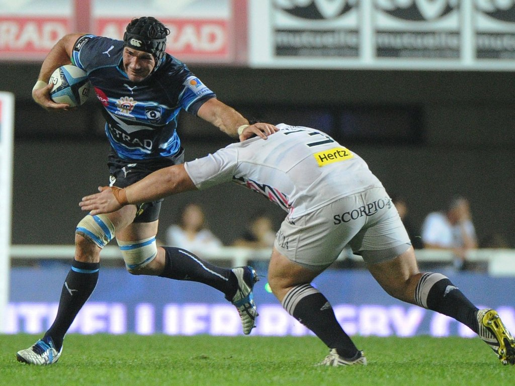 Montpellier's Ben Mowen leading the charge