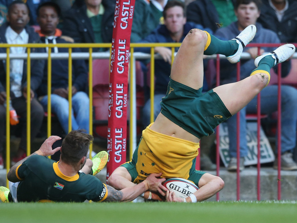 Ashley-Cooper's score was Australia's only try