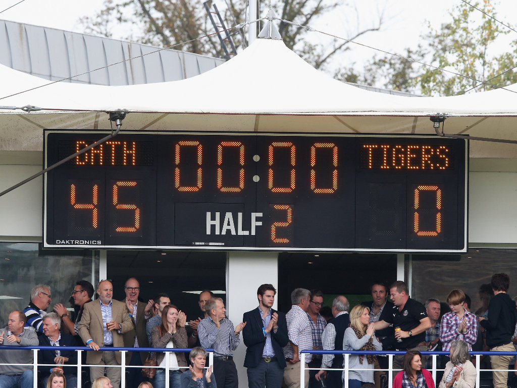 Comprehensive win: Bath thump Leicester