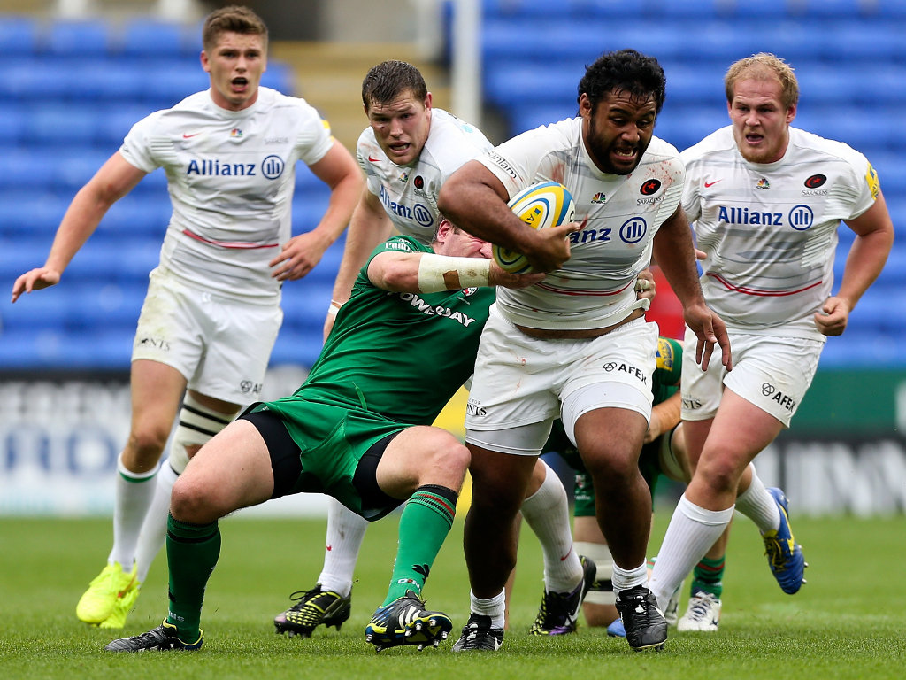 Late show: Billy Vunipola was the match-winner