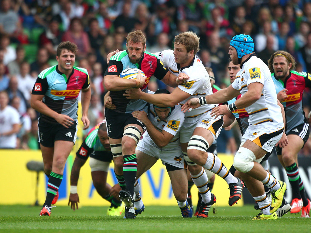 Crossed: Chris Robshaw