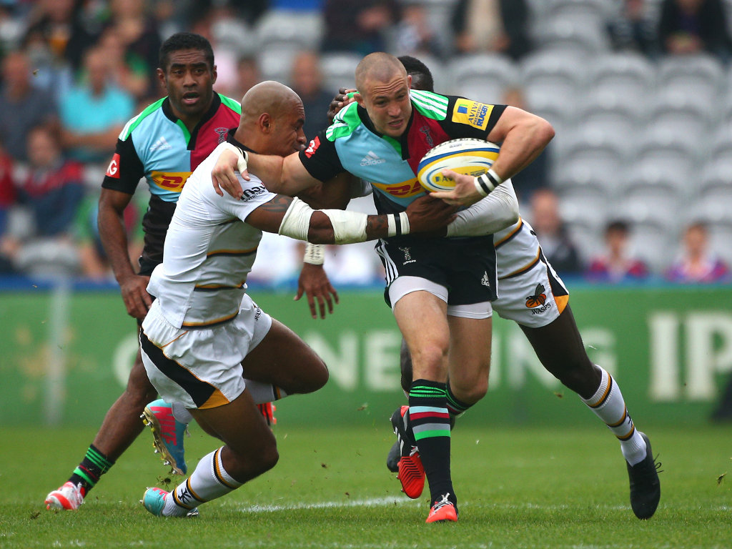 Crossed for Quins: Mike Brown
