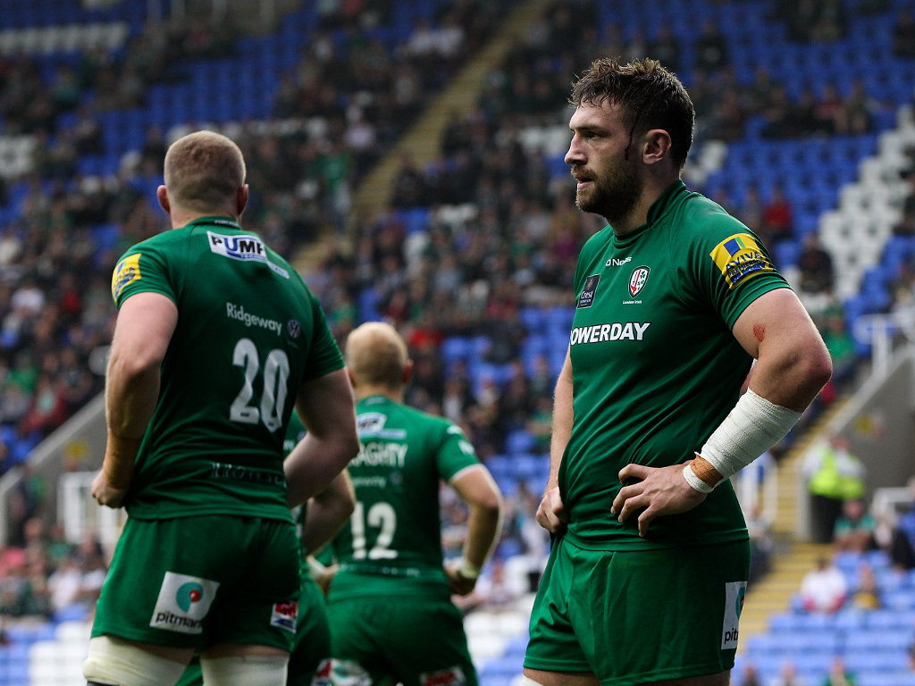 Can't believe it: London Irish at full-time