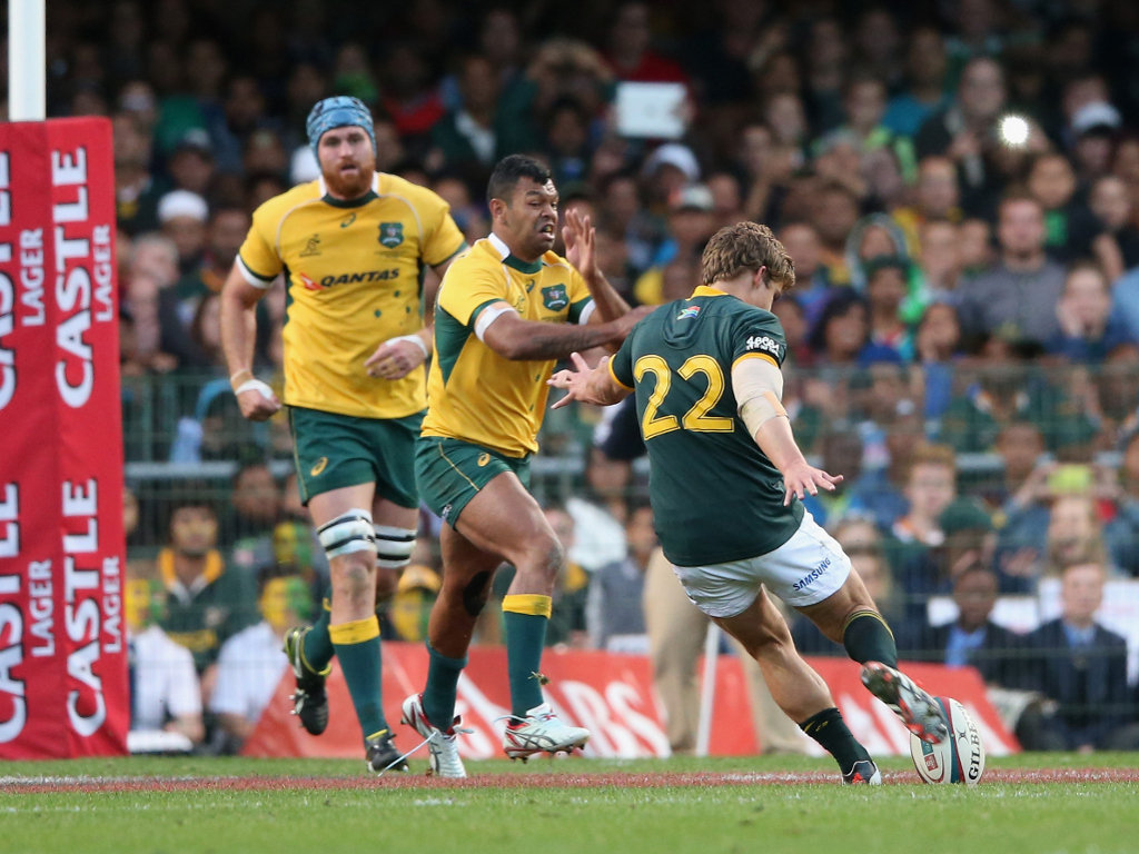 Pat Lambie's drop gave South Africa the lead