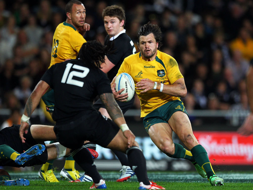 7 - Adam Ashley-Cooper, nine tries