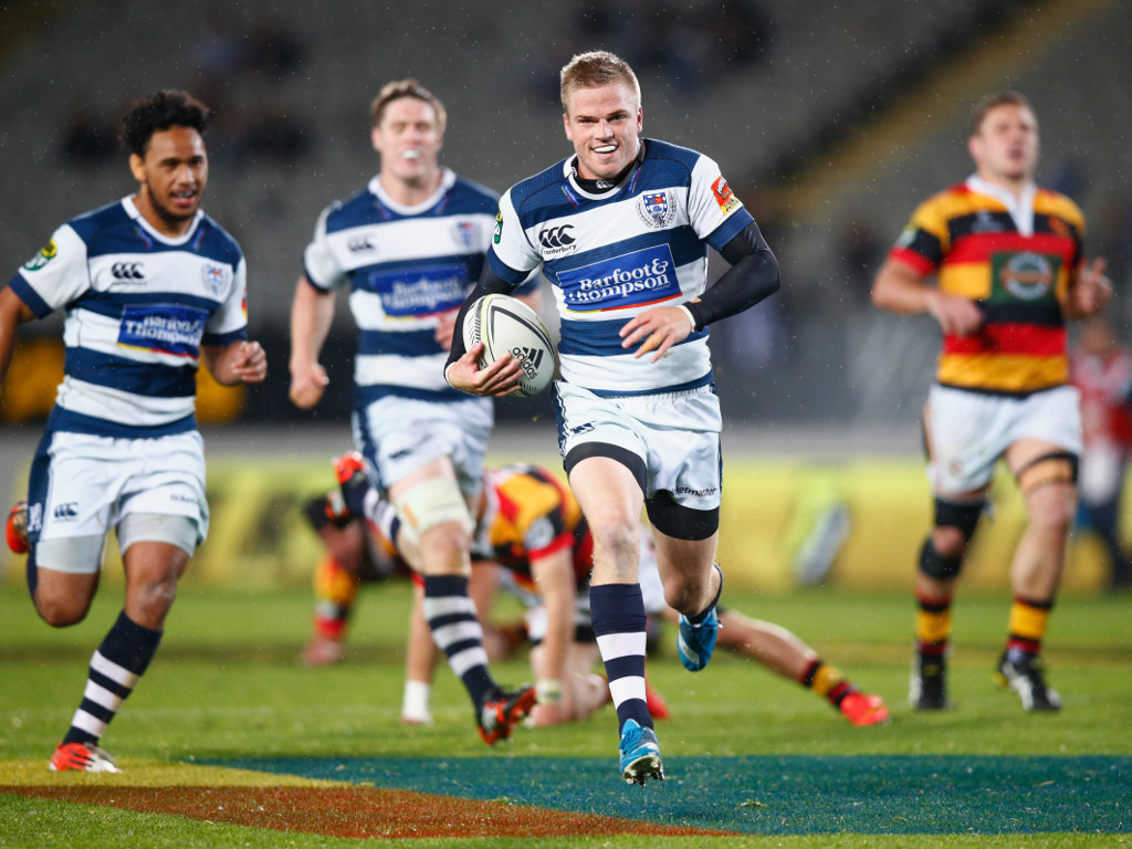 Scored 16 points: Gareth Anscombe