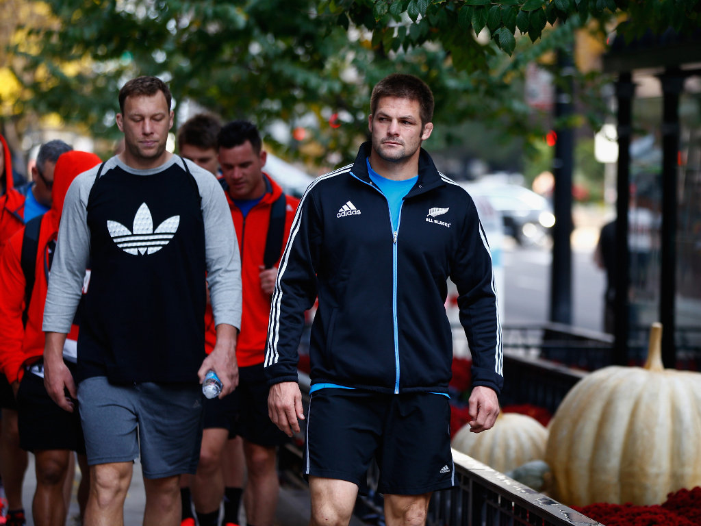 Leading the way: Richie McCaw