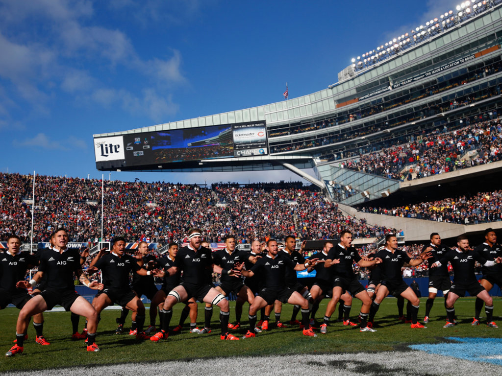 The Haka at Soldier Field