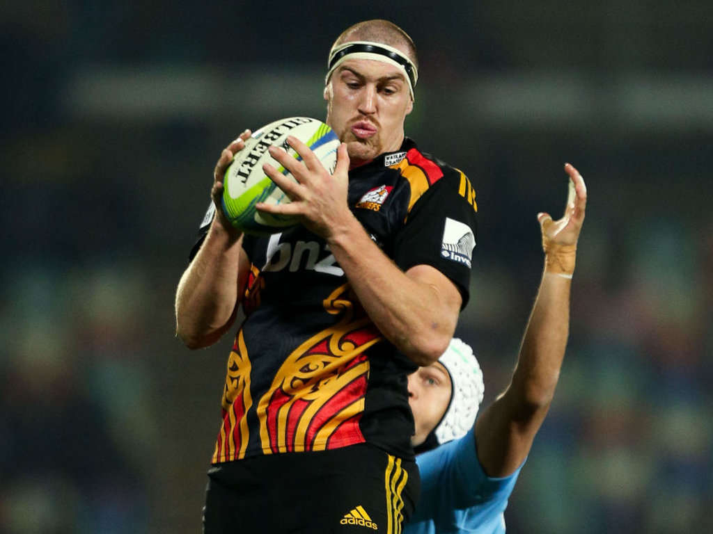 Retallick was a tower of strength for the Chiefs in Super Rugby