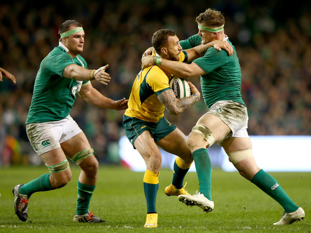 Trying to make an impact: Quade Cooper