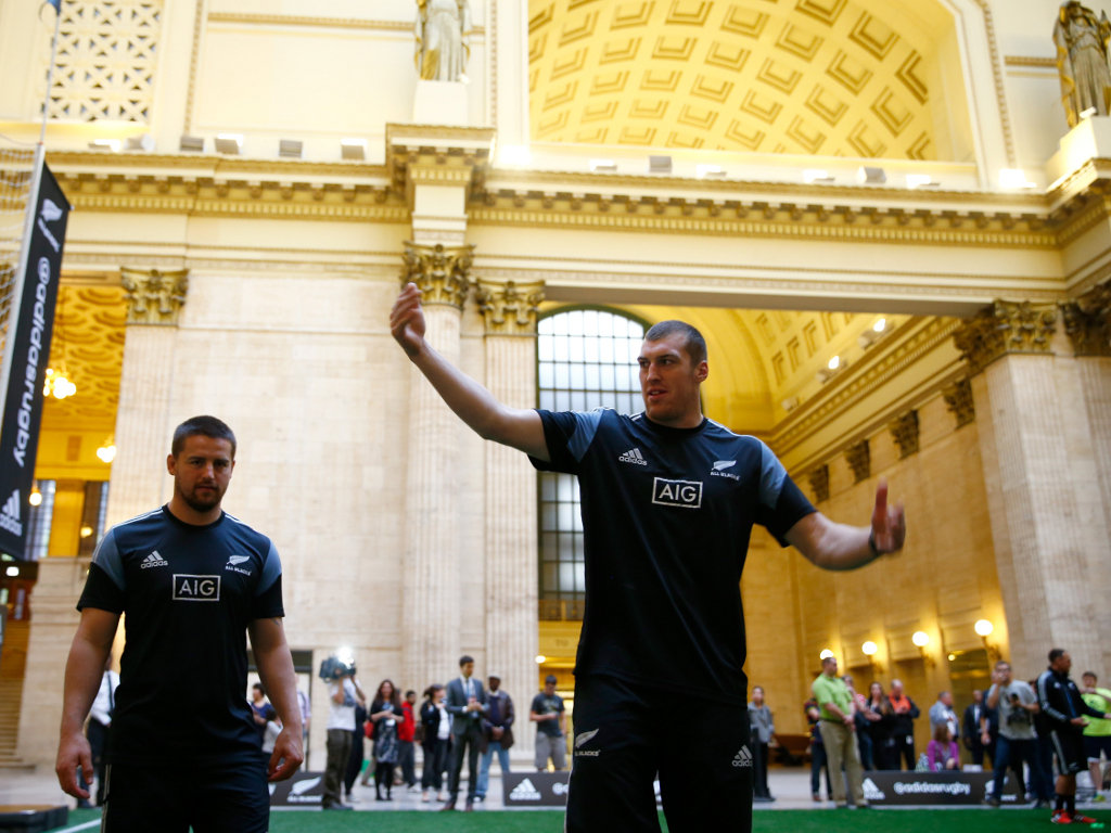 During a community skills session at the Chicago Union Station