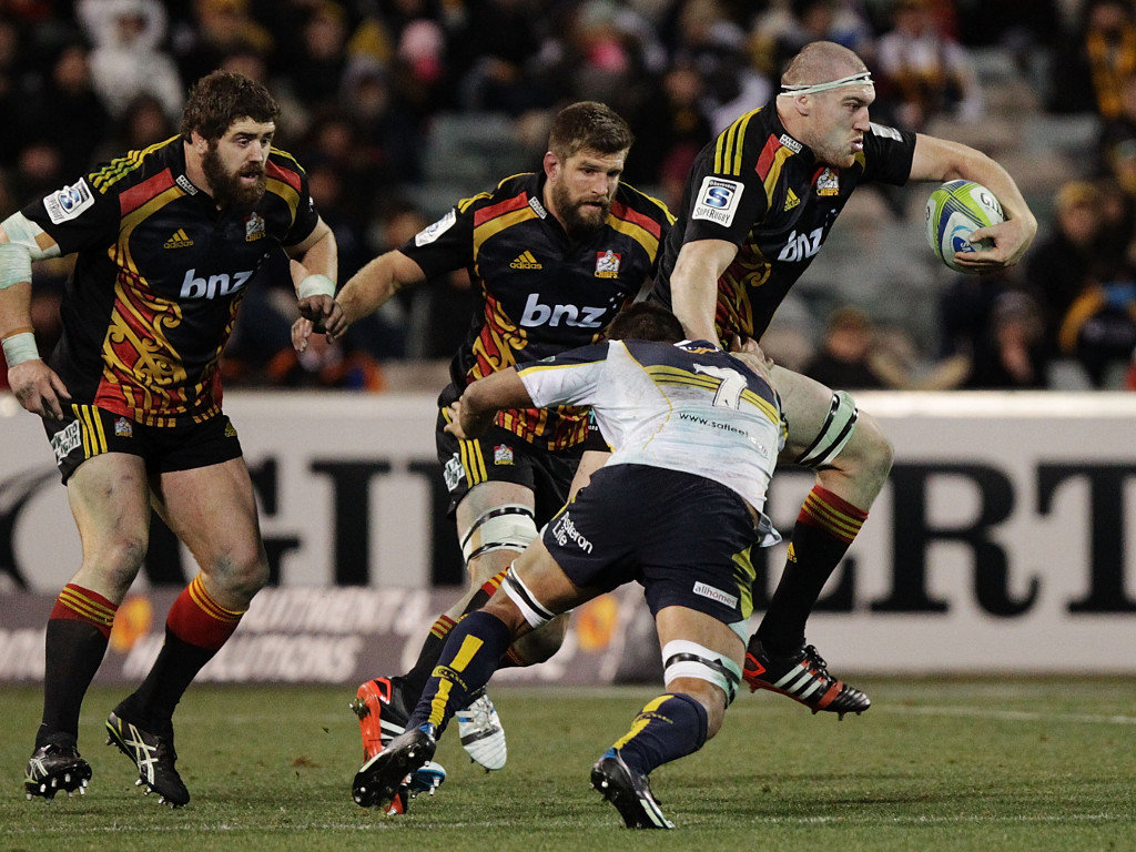 The Chiefs were narrowly beaten by the Brumbies in the Super Rugby play-offs