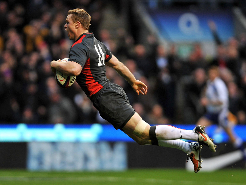 Chris Ashton then scored a memorable long-range try at Twickenham later that year