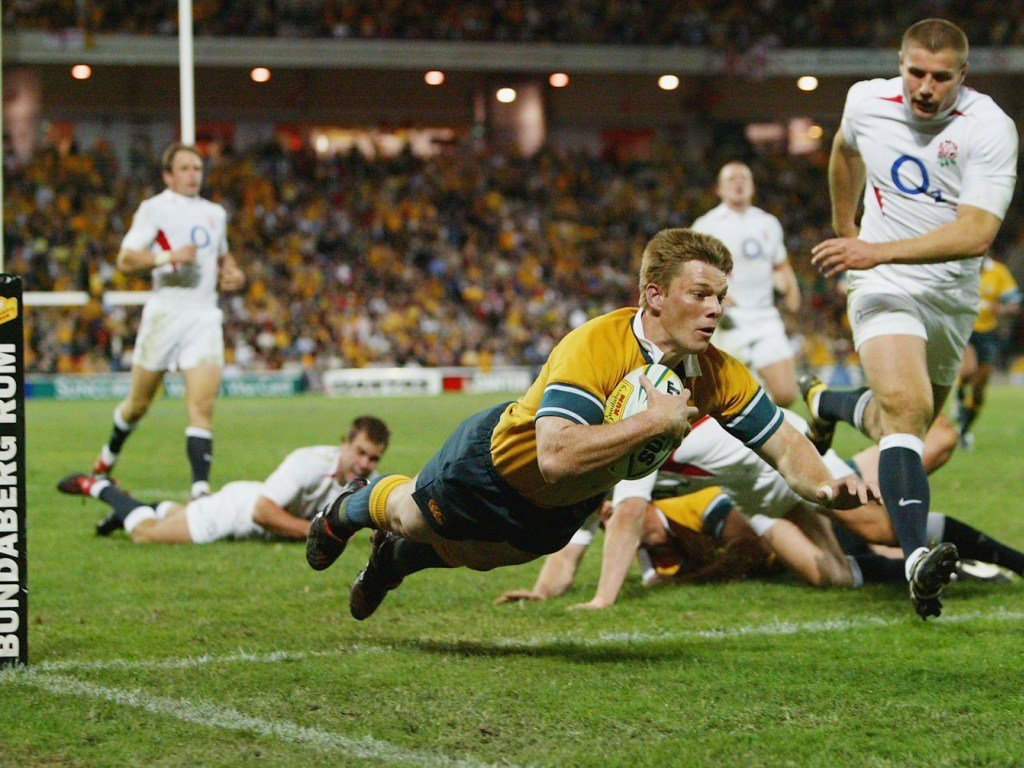 Australia ended a run of five straight losses to England with a 51-15 win in Brisbane in June 2004