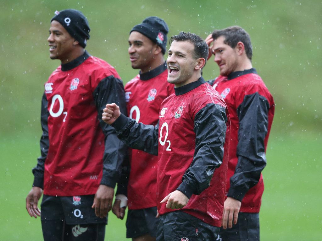 England scrum-half: Danny Care