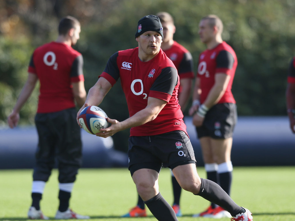Recalled at hooker: Dylan Hartley