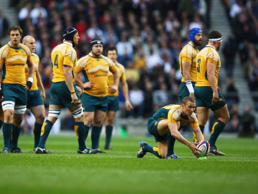 Matt Giteau helped Australia gain revenge at Twickenham the following year