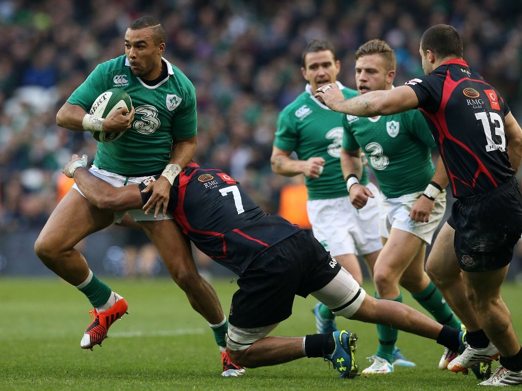 Simon Zebo trying to step out of trouble