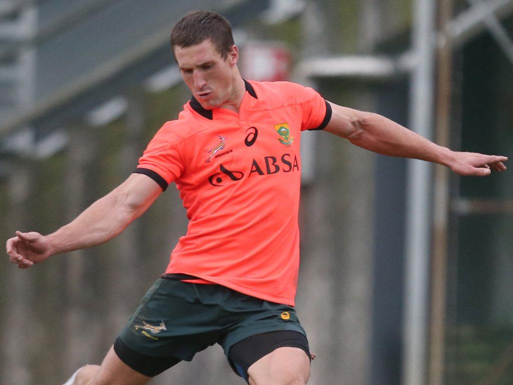 Full-back for South Africa: Johan Goosen