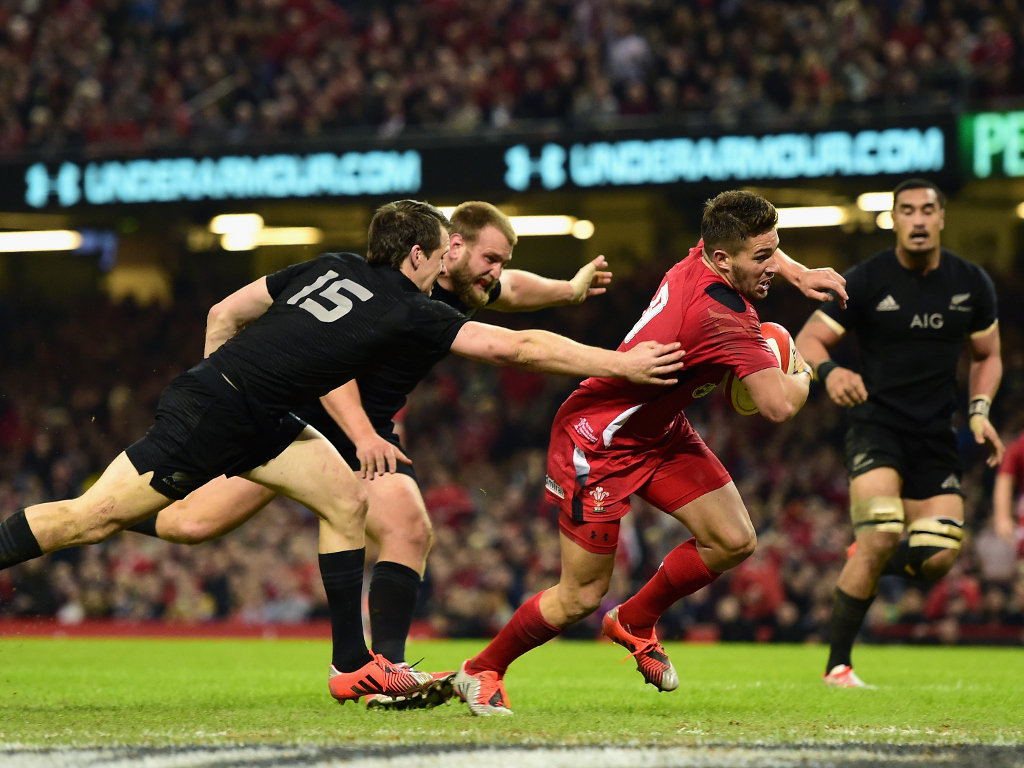 Response for Wales: Rhys Webb