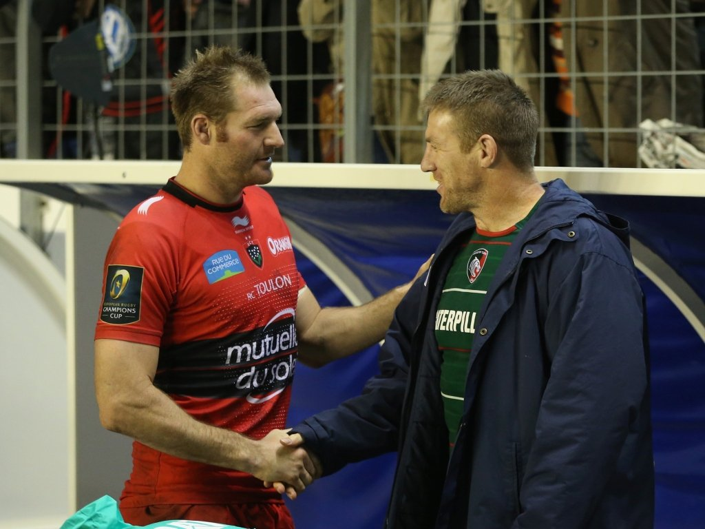 Former teammates Ali Williams and Brad Thorn caught up in Toulon
