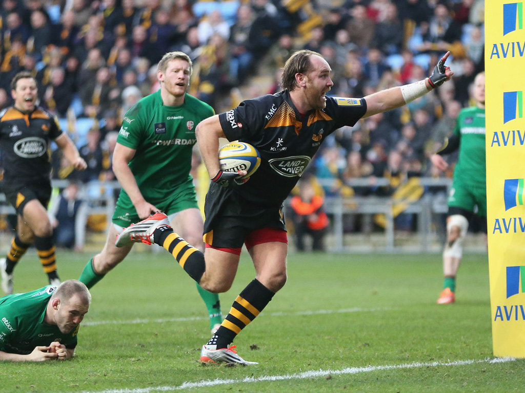 Had a fine game: Andy Goode