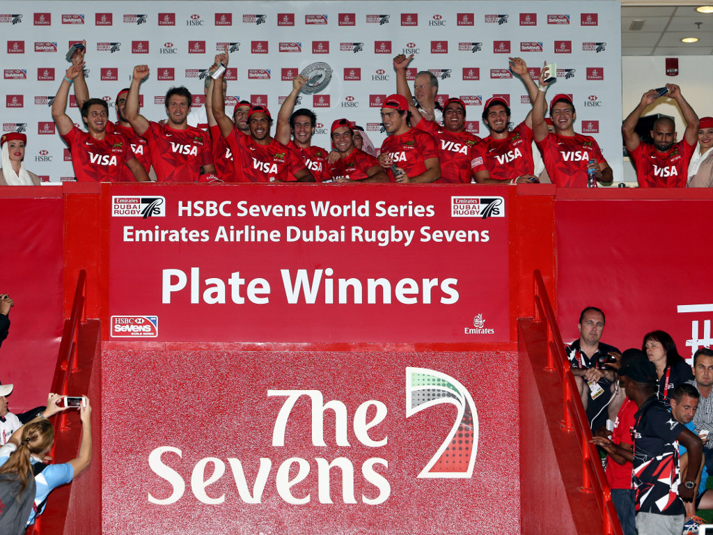 Plate winners: Argentina