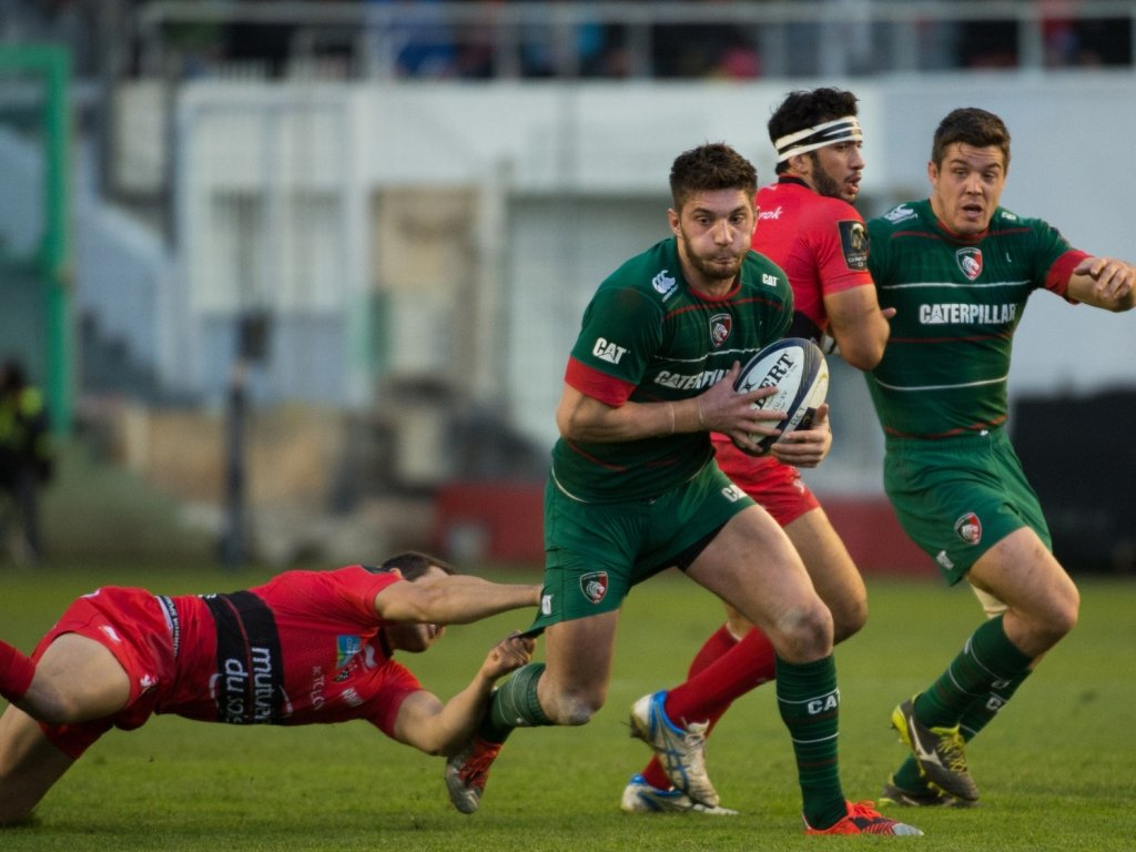 Owen Williams endured a difficult afternoon for Leicester