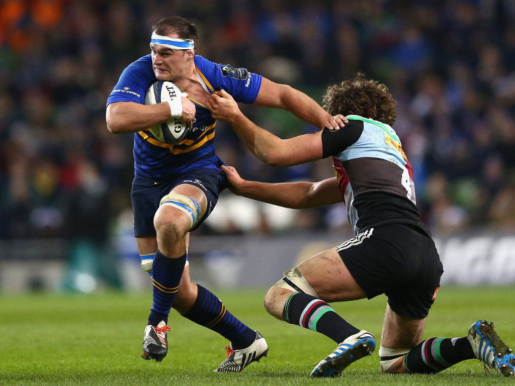 Rhys Ruddock making hard yards for Leinster