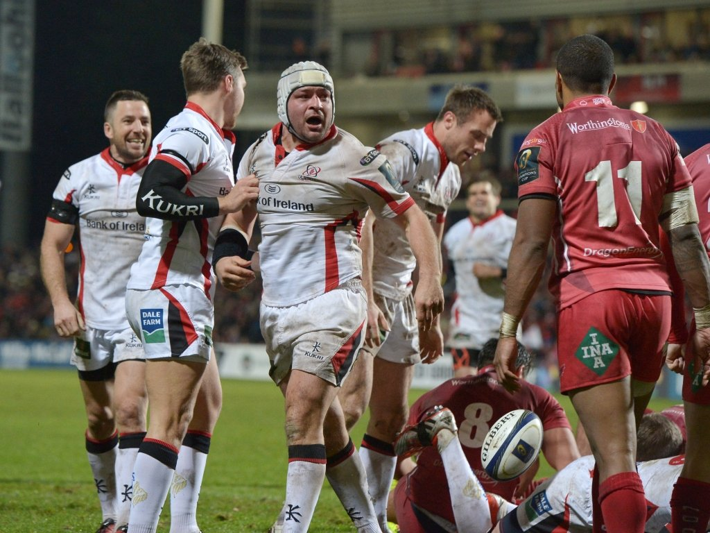 Rory Best sealed the bonus point with his try 12 minutes from time