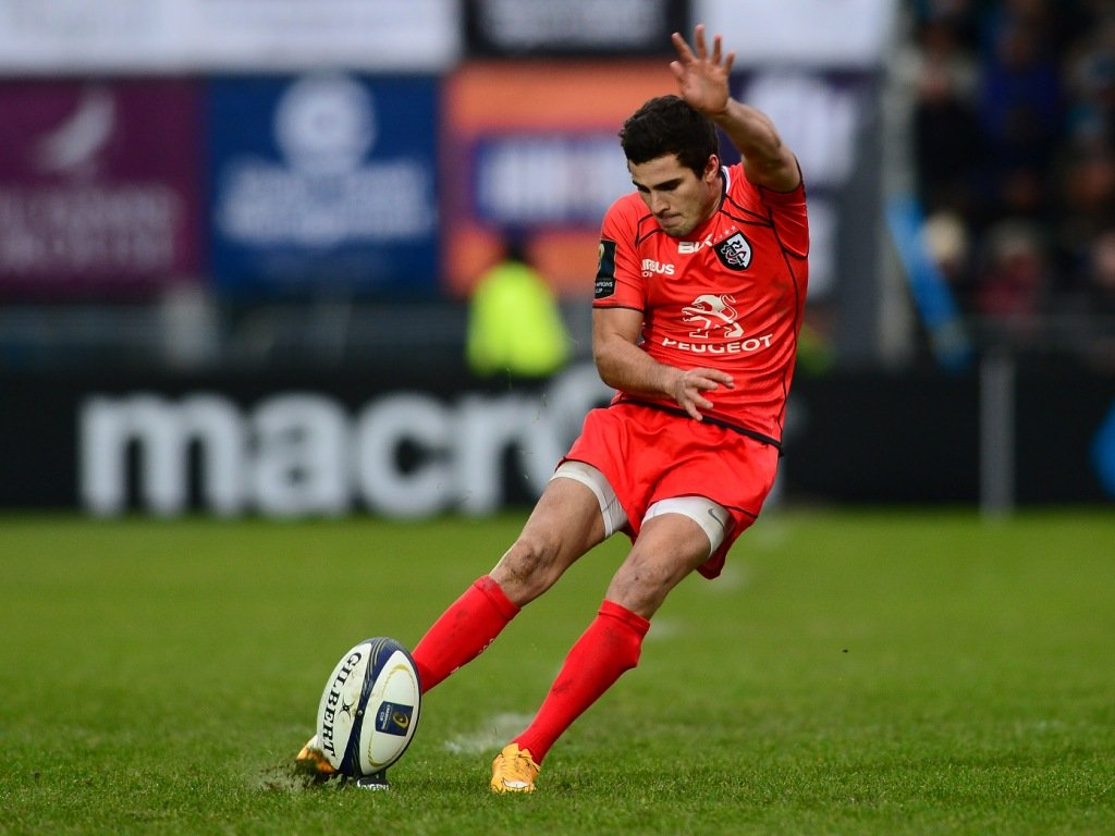 Sébastien Bézy's kicking helped Toulouse to victory away at Glasgow