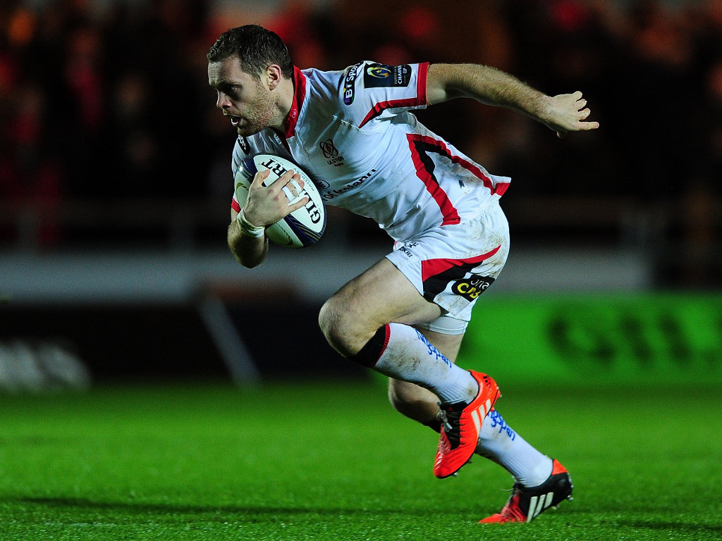 Scored for Ulster: Darren Cave