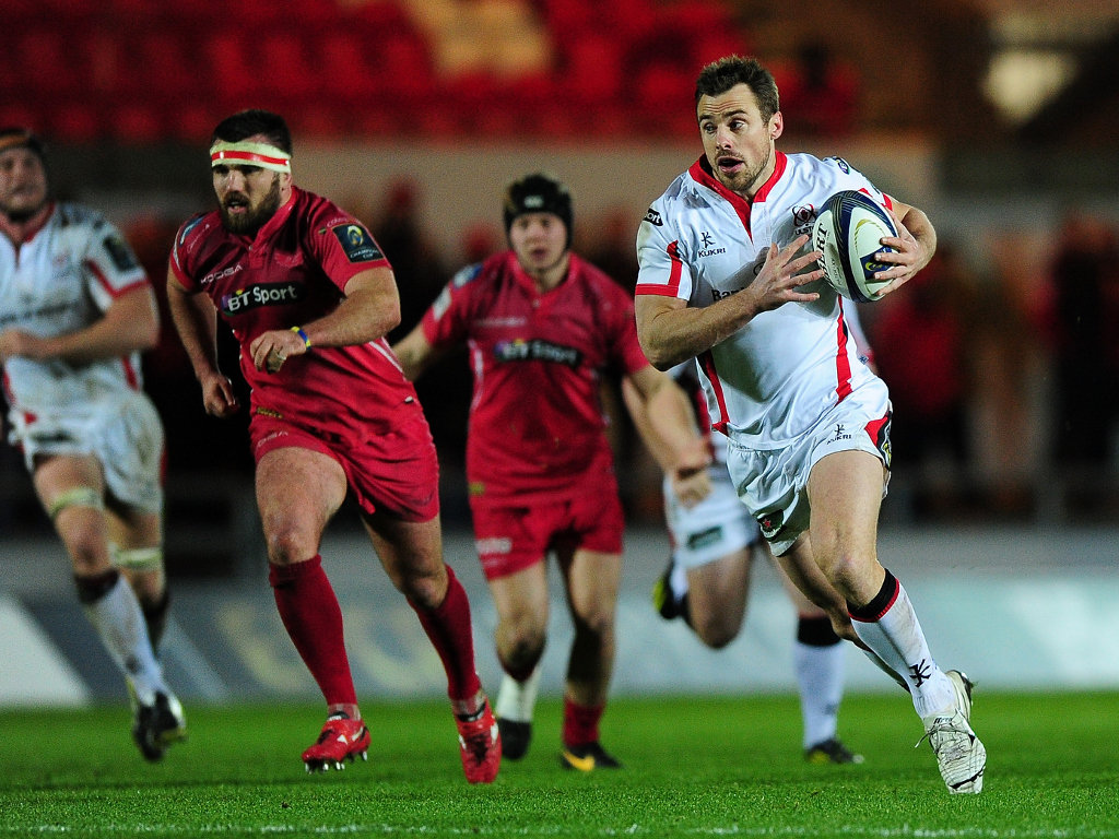 Open space: Ulster wing Tommy Bowe