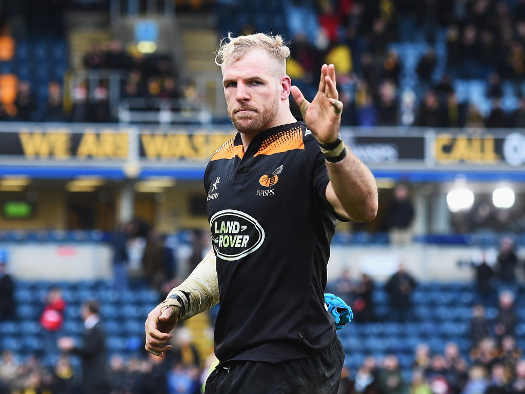 Farewell: James Haskell