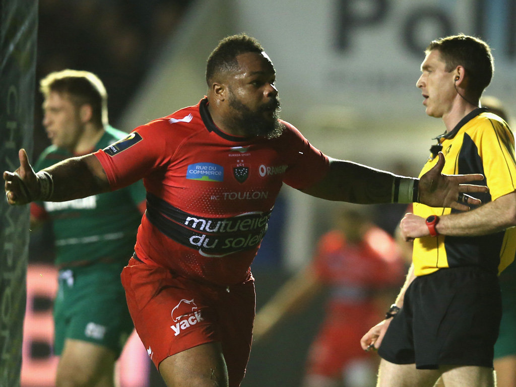 But Mathieu Bastareaud grabbed Toulon's second try after the break as they won comfortably