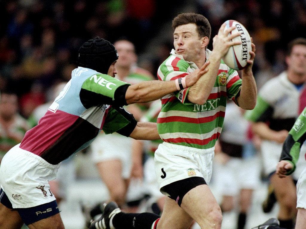 1999 Harlequins v Leicester Joel Stransky
