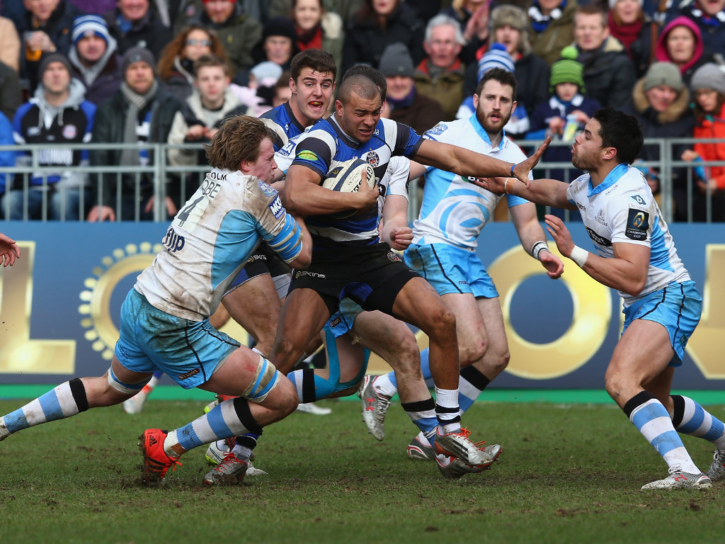 Always dangerous: Jonathan Joseph of Bath