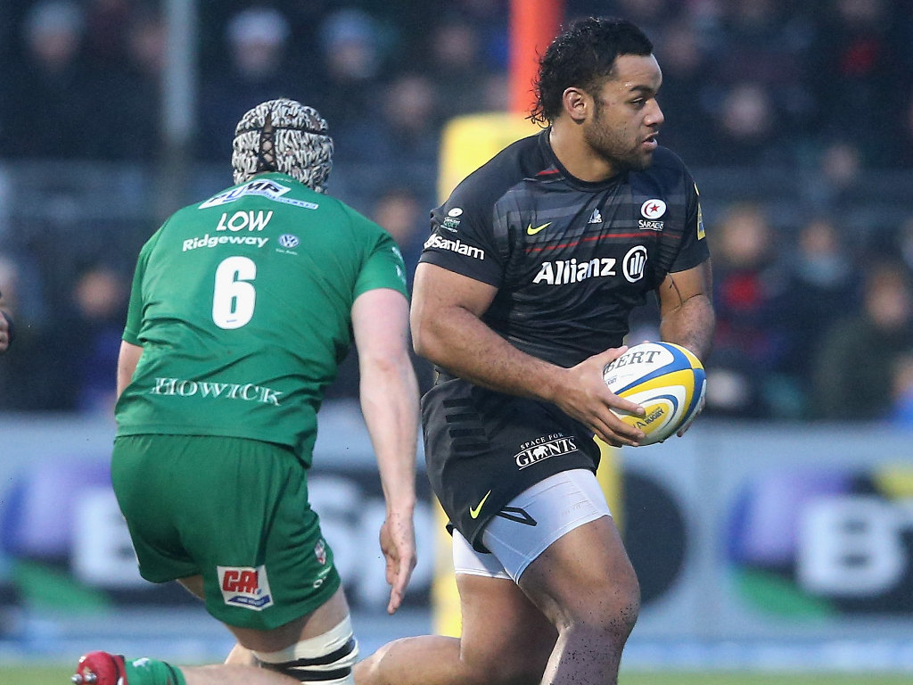 Attacking threat: Billy Vunipola