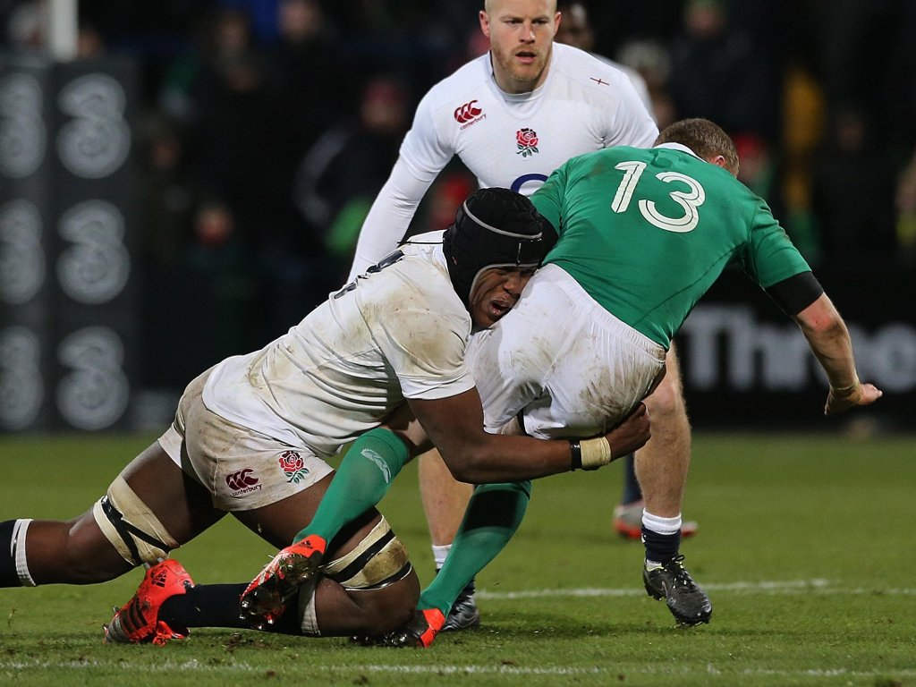Chopping down a Wolfhound: Maro Itoje