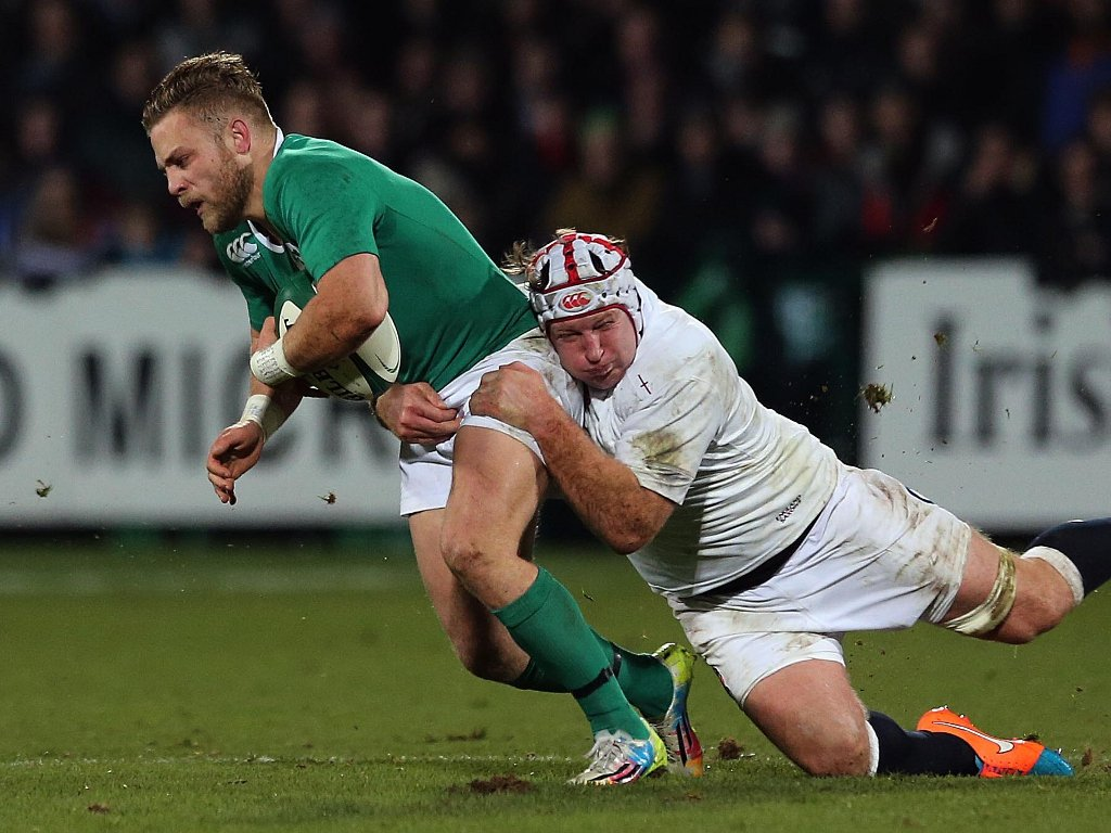 Looking for a gap: Ian Madigan