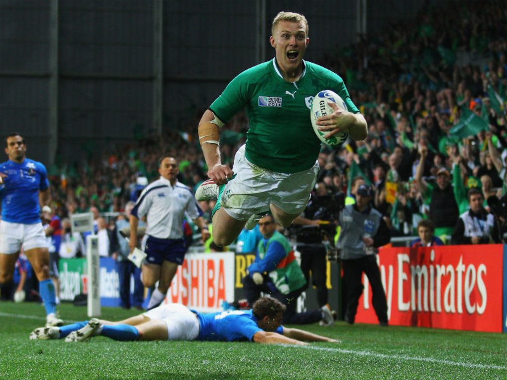 Keith Earls: Getting some hang time