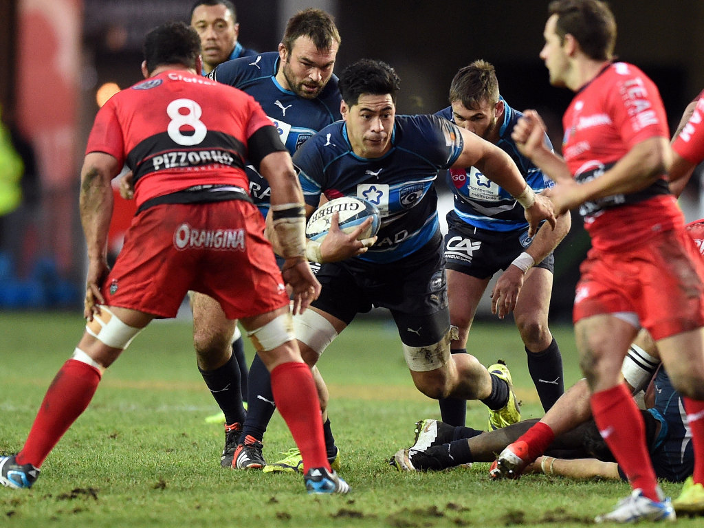 Ready to attack: Montpellier's Alex Tulou