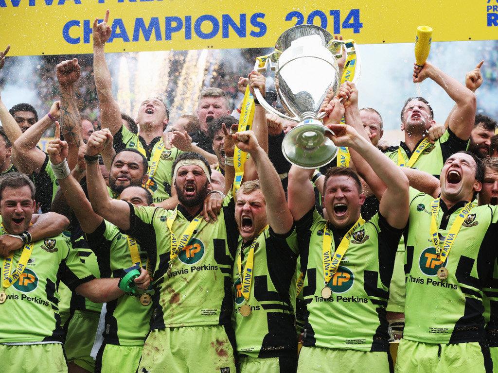 Northampton Saints: Aviva Premiership champions