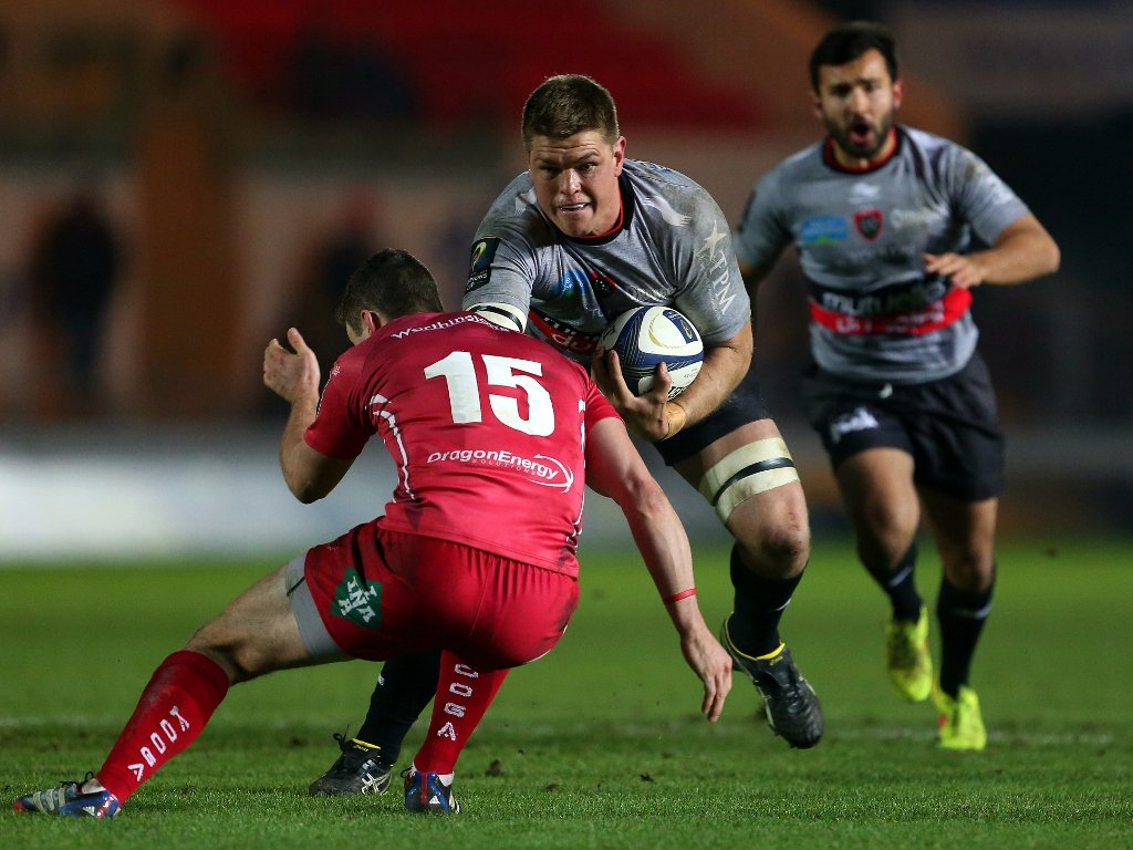 In good form: Toulon flanker Juan Smith