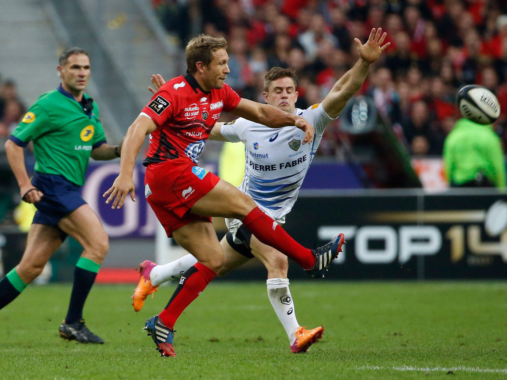 Jonny Wilkinson helped Toulon to victory over Castres in the Top 14 Final
