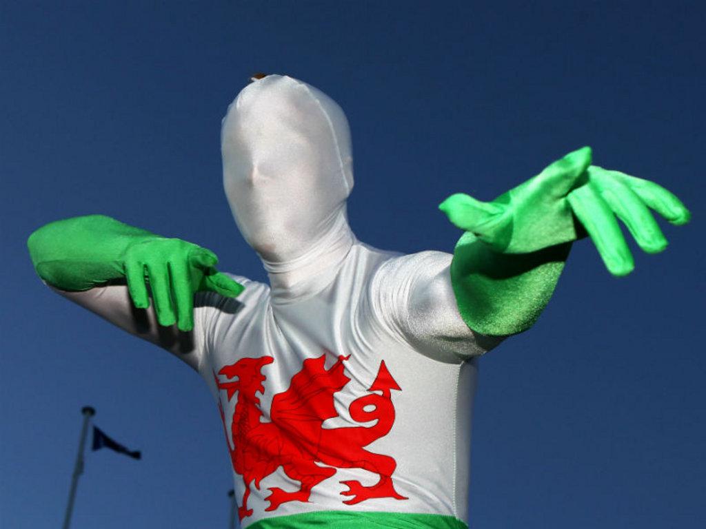 Wales' mystery man