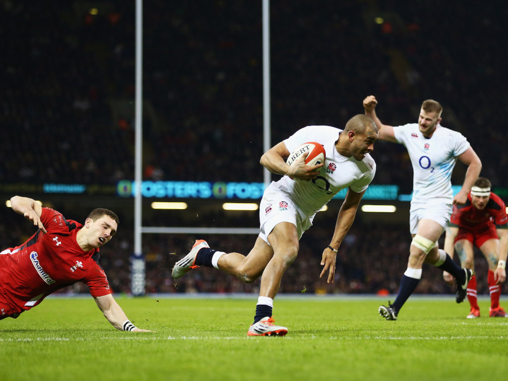Scored a key try: Jonathan Joseph